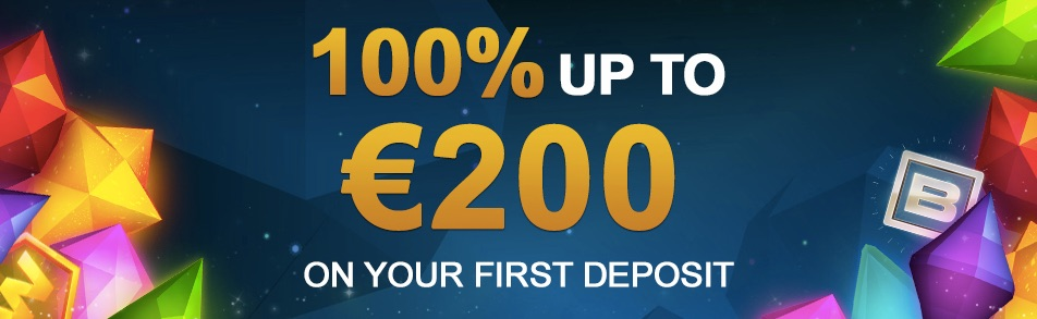 100% up to €200 first deposit bonus on videoslots casino