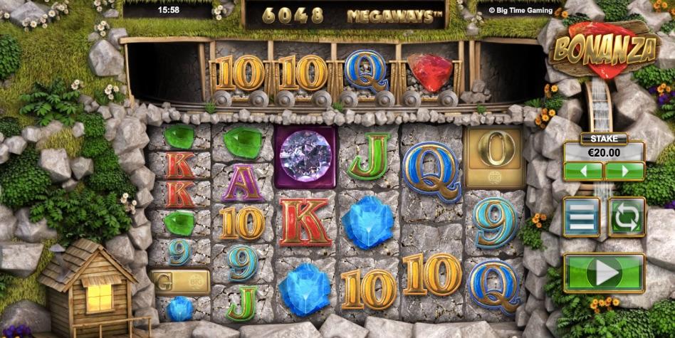bonanza slot from game provider big time gaming
