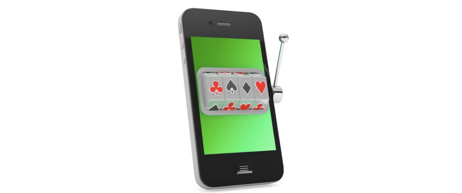 casino slot on a mobile device