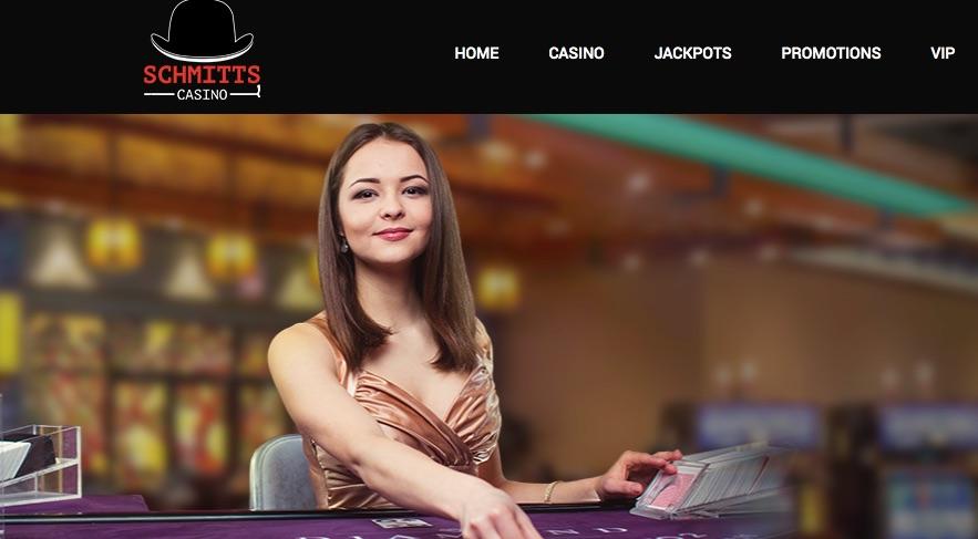 female blackjack live dealer at schmitts online casino