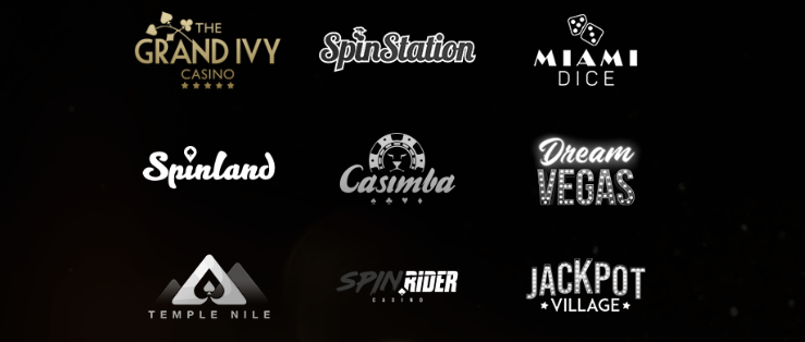 other online casino brand logos