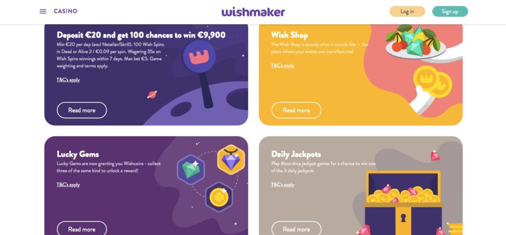 campaigns at wishmaker casino