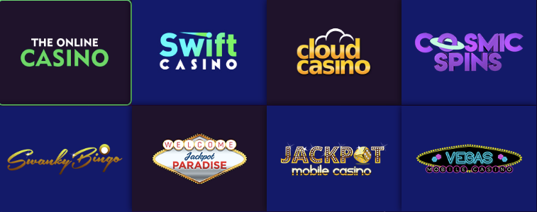 casino brands promoted by galaxyaffiliates