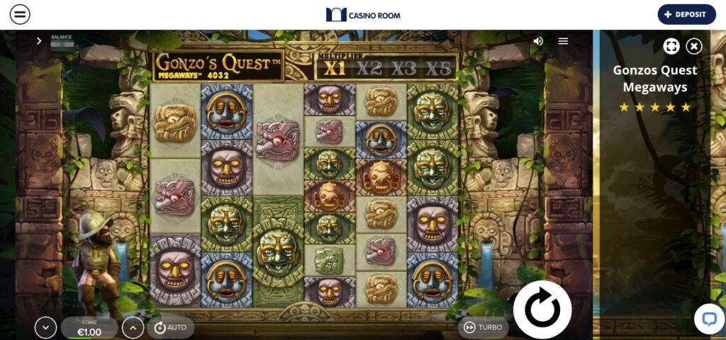 gonzos quest megaways slot