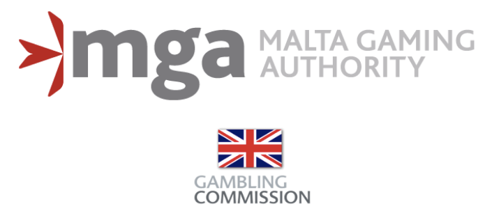 mga and ukgc logos