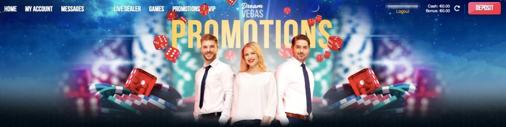 promotions page