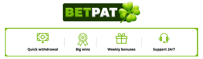 image of 4 selling points betpat casino