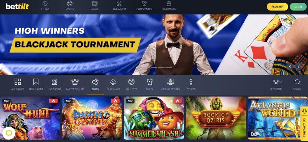 bettilt casino start page