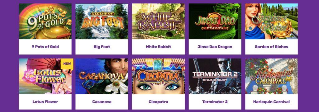 10 of the popular casino games at yako casino