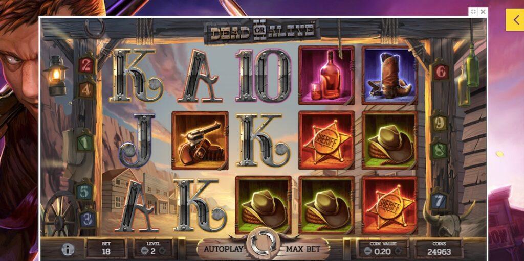 dead or alive 2 slot at yako casino