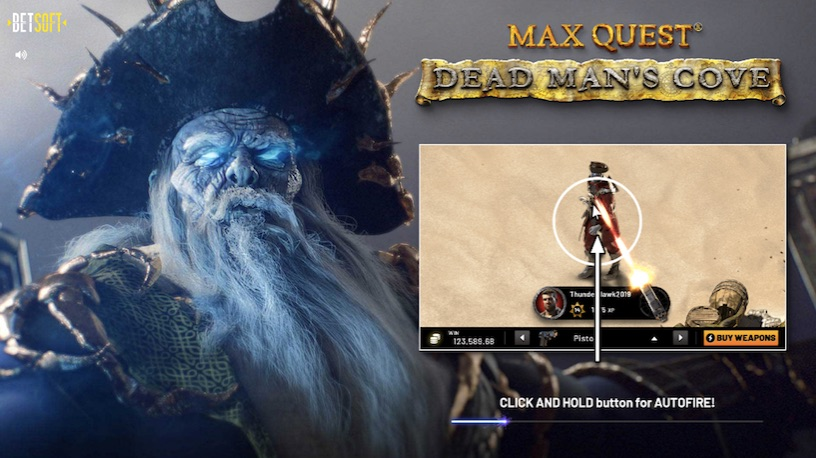 screenshot from dead mans cove load screen