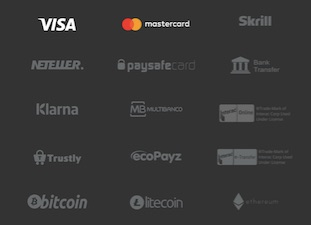 logos of payment methods that are available at zetcasino