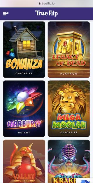 six popular online casino slots