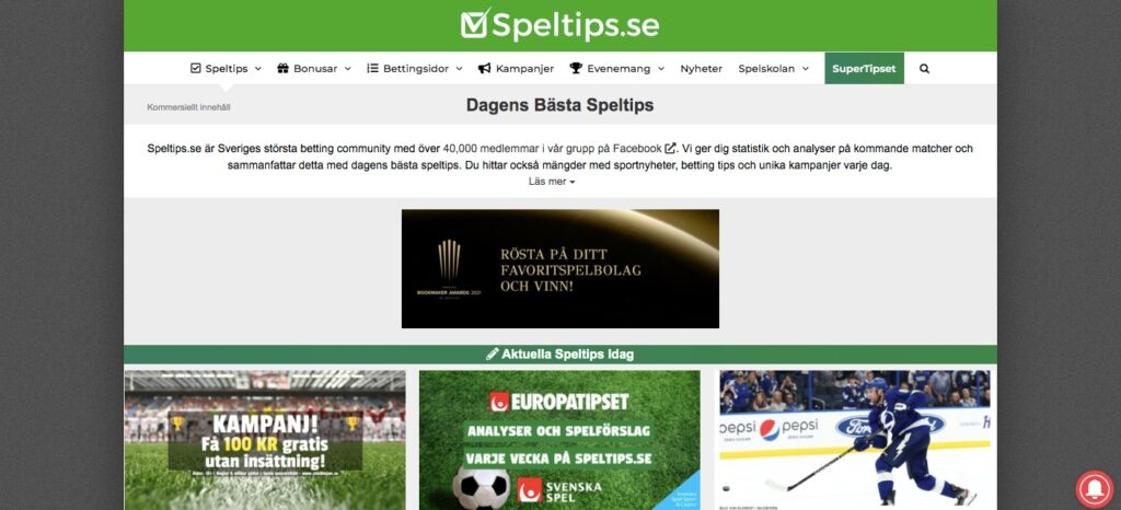 speltips home page
