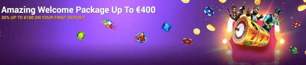 mrvegascasino online casino welcome bonus offer banner