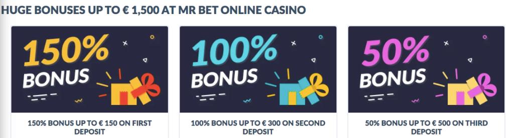 mrbet welcome bonuses