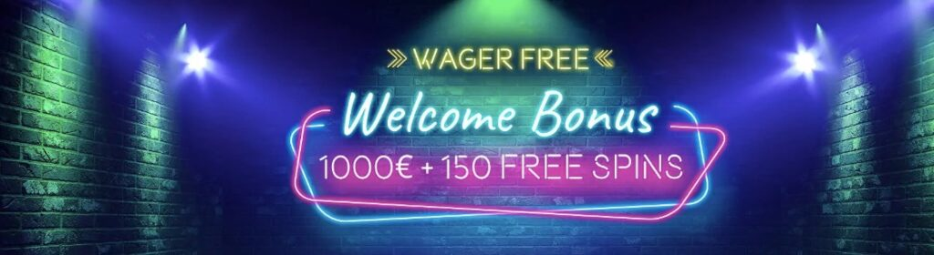 vegaz casino welcome bonus banner