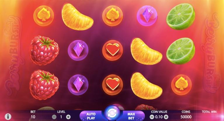 berryburst slot example