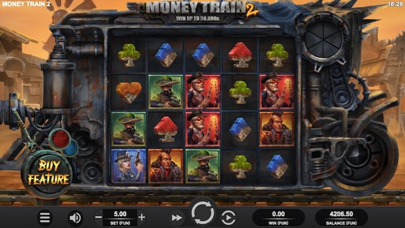 the money train 2 online casino slot