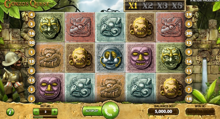 the original gonzos quest slot from 2011