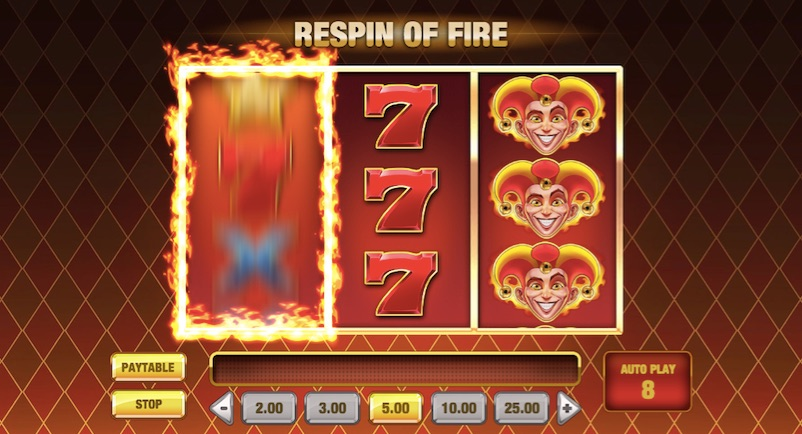 respin of fire example