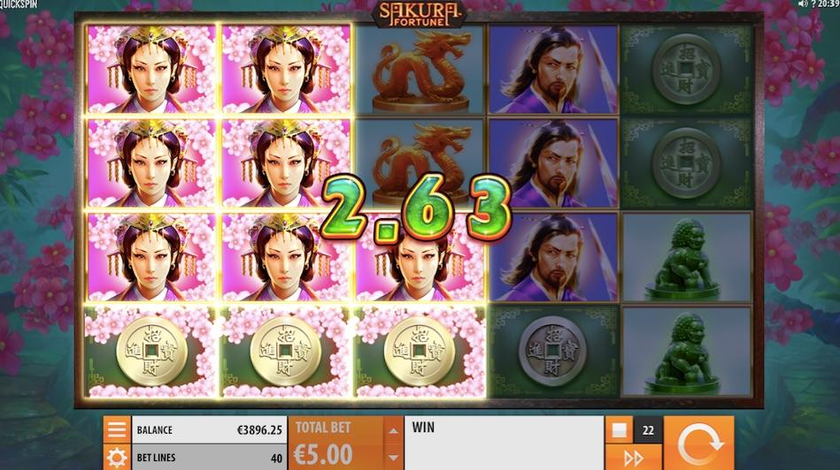 win example sakura fortune slot