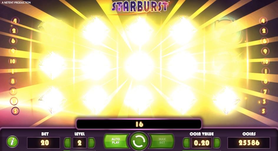 big win in the original starburst
